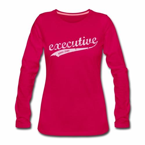 executive Langarmshirt Frauen - Frauen Premium Langarmshirt