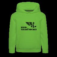 Pullover & Hoodies ~ Kinder Premium Kapuzenpullover ~ Kinder Kapuzenpulli - Krad-Vagabündchen