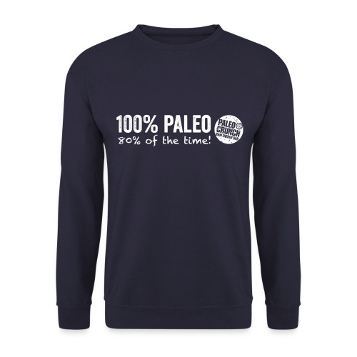 100% Paleo 80% of the time - Herrtröja