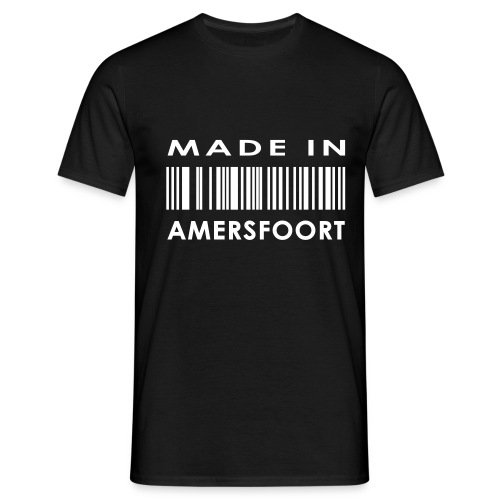 Made in Amersfoort Woodz t-shirt - Mannen T-shirt