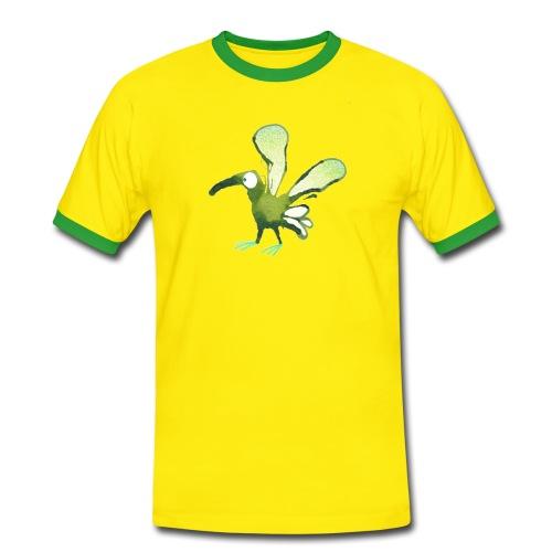 Grünling No.1 - Männer Kontrast-T-Shirt