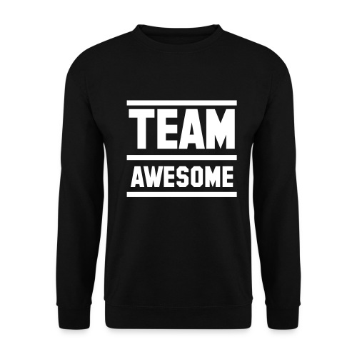 Team Awesome sweater zwart - Mannen sweater