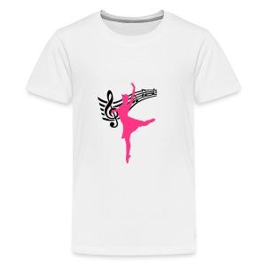 Ballett - Teenage Premium T-Shirt