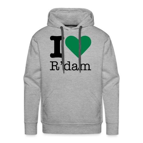 I love R'dam sweater - Mannen Premium hoodie