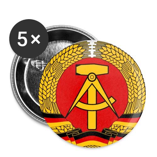 Anstecker mit DDR Symbol als Bild - Buttons groß 56 mm