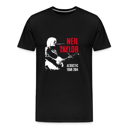 Tour - white/red - Men's Premium T-Shirt