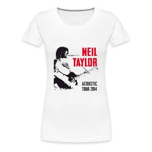 Tour - black/red - Women's Premium T-Shirt
