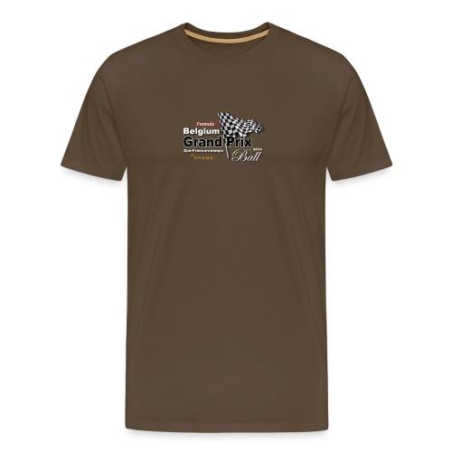 Belgium Grand Prix Ball 2014 T-Shirt - Men's Premium T-Shirt