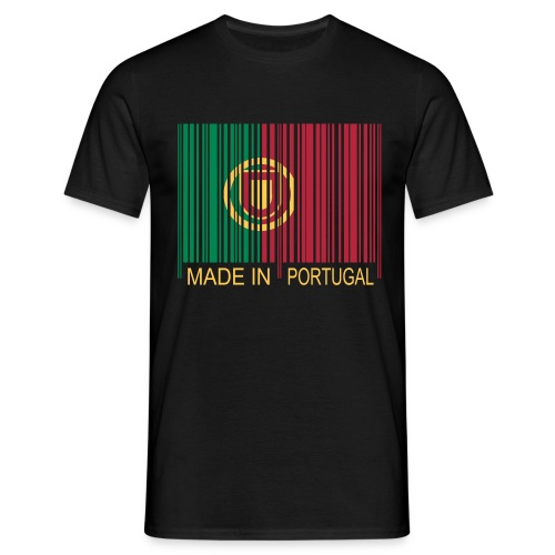 Code barre Made in PORTUGAL - T-shirt Homme