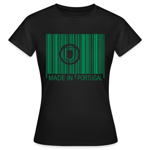 Code barre Made in PORTUGAL - T-shirt Femme