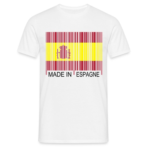 Code Barre Made in ESPAGNE - T-shirt Homme