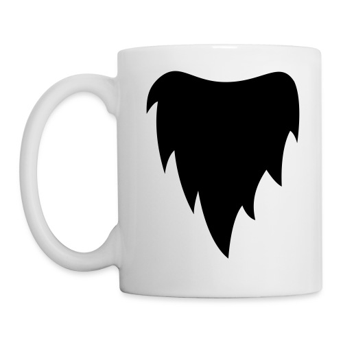 Gnome - All White Coffee Mug - Mok