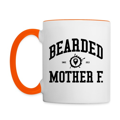 Bearded Mother F. - Multi-color Coffee Mug - Mok tweekleurig