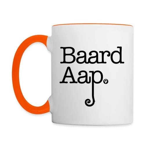 Baard Aap - Multi-color Coffee Mug - Mok tweekleurig