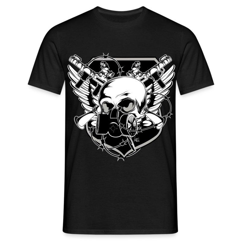 mask - Männer T-Shirt