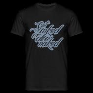 T-Shirts ~ Männer T-Shirt ~ inked silber metallic