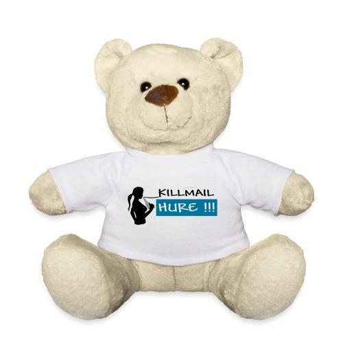 Killmail Hure, schwarz-petrol-grau - Teddy