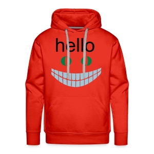 overly friendly - Men's Premium Hoodie