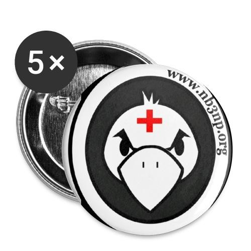 badge logo NB3NP 25mm (5) - Badge petit 25 mm