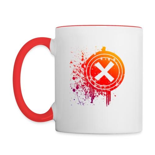 X Vector - Mug contrasté
