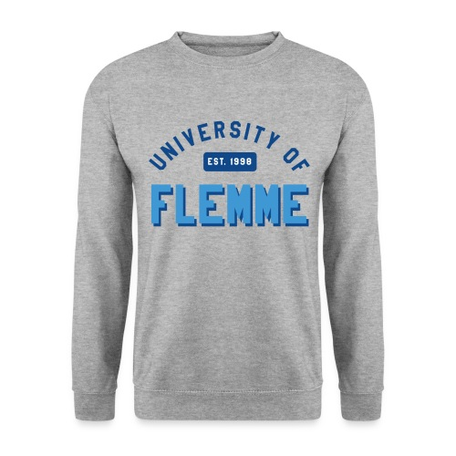 Sweat shirt University of Flemme - Sweat-shirt Homme