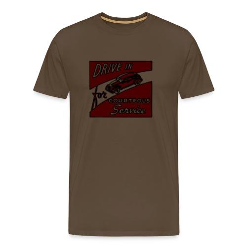 Vintage Drive in - T-shirt Premium Homme