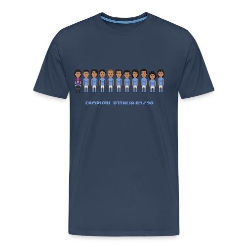 Men T-Shirt - Italian Champions 89/90 - Men's Premium T-Shirt