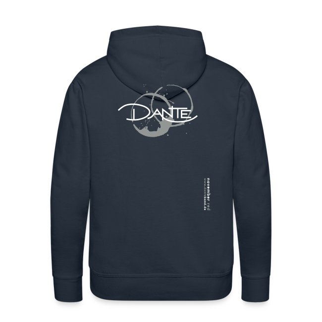 DANTE Men Hoodie NOVEMBER RED blue
