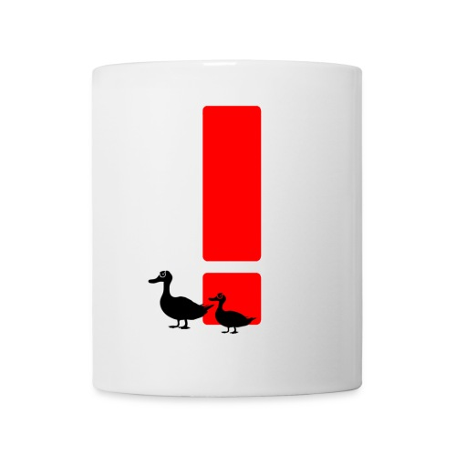 Ducks are watching you Logo Tasse - Tasse