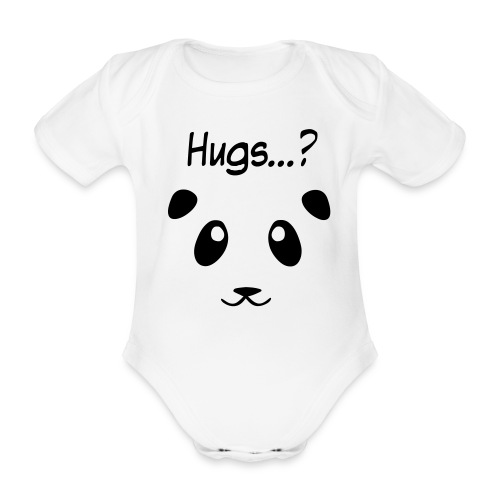Panda-Hugs - Baby Bio-Kurzarm-Body
