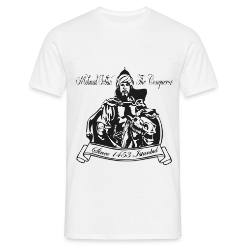 Fatih Sultan Mehmet - Mannen T-shirt