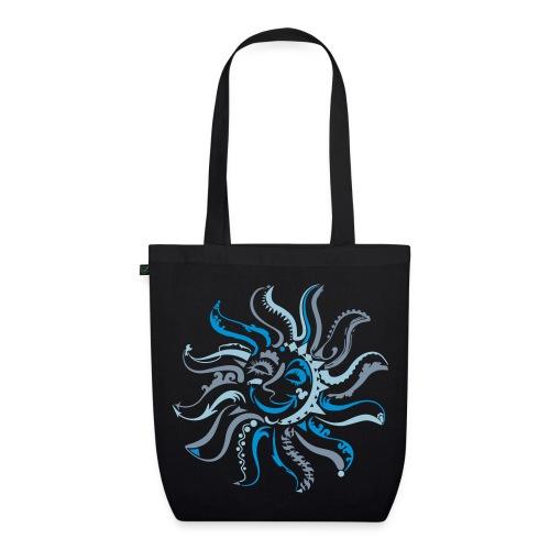Octopus-Sun-Tasche - Bio-Stoffbeutel