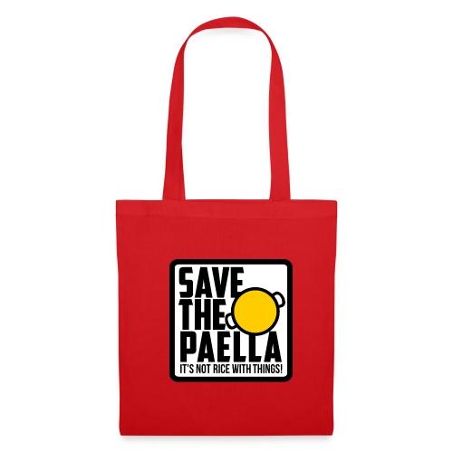 Bossa Save the Paella - Bolsa de tela