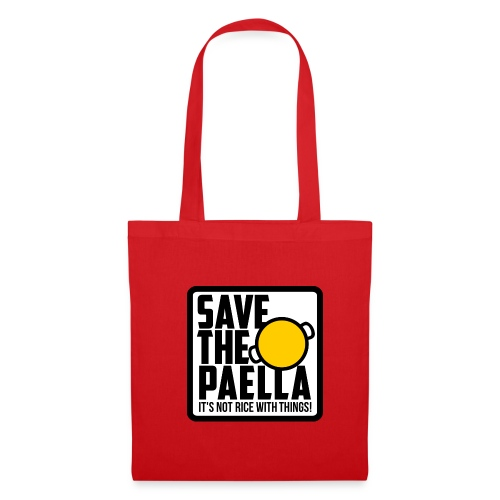 Bossa Save the Paella - Bolsa de tela