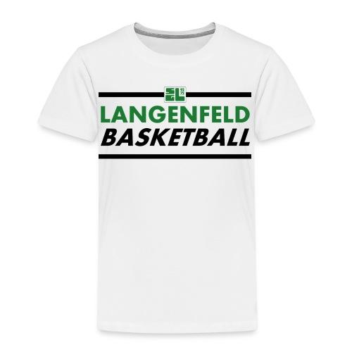 Langenfeld Basketball (Kids / White / T-Shirt) - Kinder Premium T-Shirt