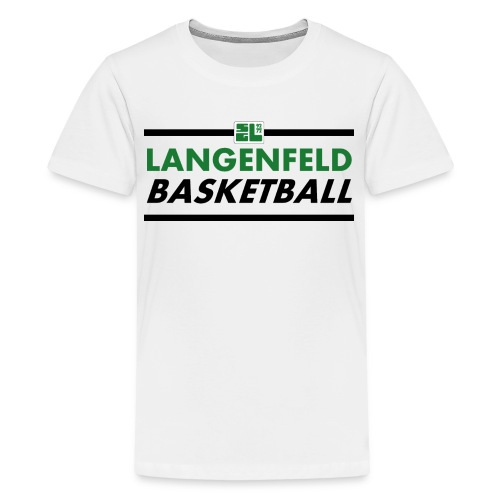 Langenfeld Basketball (Teen / White / T-Shirt) - Teenager Premium T-Shirt