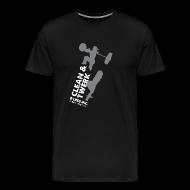 T-Shirts ~ Men's Premium T-Shirt ~ Clean & Twerk