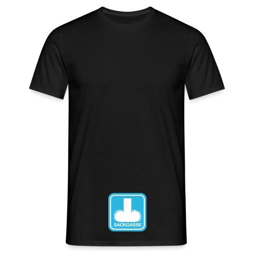 sackgasse - Männer T-Shirt
