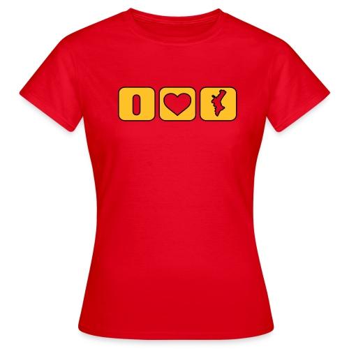Valencian Love - Xica - Camiseta mujer