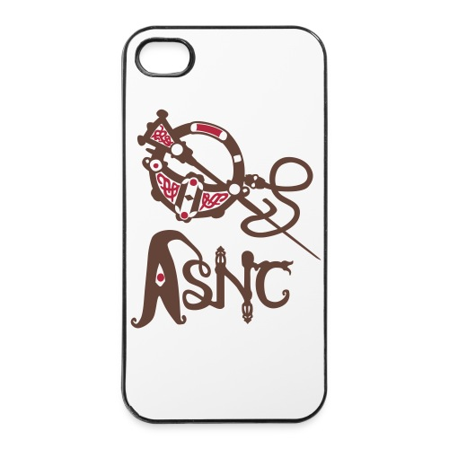ASNC Brooch Iphone 4 - iPhone 4/4s Hard Case