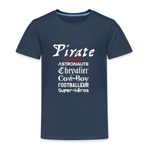 T-shirt premium enfant - Pirate ou alors - T-shirt Premium Enfant