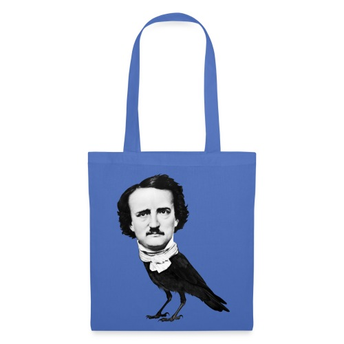 Bolsa Poe Cuervo [celeste] - Bolsa de tela