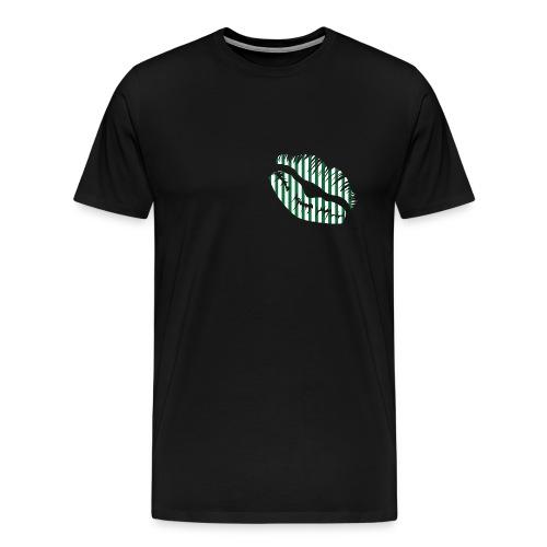 SCR - Grün/Weiß - Männer Premium T-Shirt