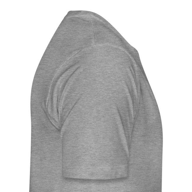 T-shirt uomo girocollo sito iosonoboris con scritta nera