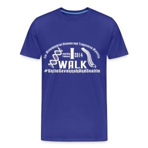 I Walk dates - Men's Premium T-Shirt