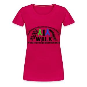 I Walk Ribbons - Women's Premium T-Shirt