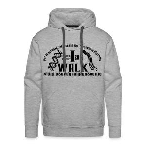I Walk dates - Men's Premium Hoodie