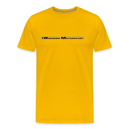 WINGEIER MOTORSPORT T-Shirt - Männer Premium T-Shirt