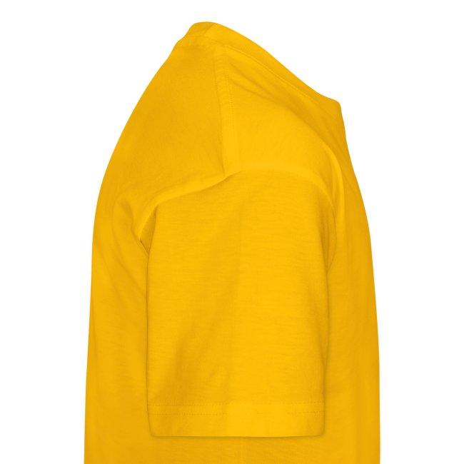 T-shirt unisex ragazzo girocollo IoSonoBoris - scritta nera