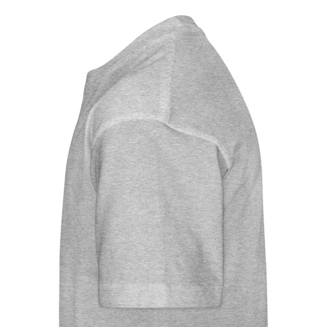 T-shirt unisex ragazzo girocollo sito iosonoboris - scritta nera